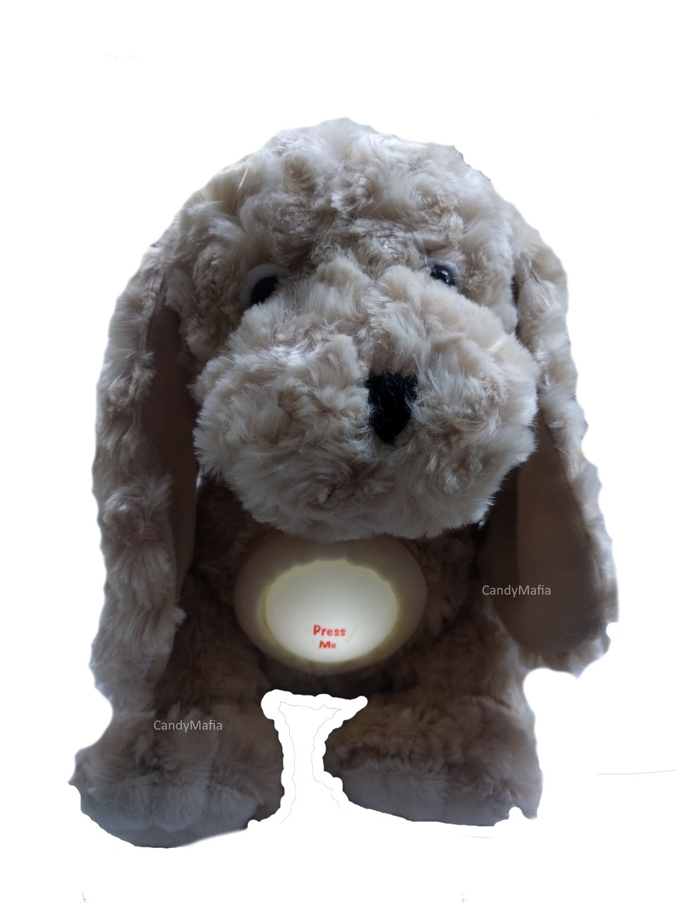 Stuffed Animal With Night Light Extremely Soft Plush Puppy Dog With