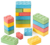 Candy Blox Blocks LEGO shaped candy