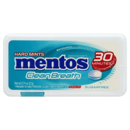 Mentos Clean Breath Sugarfree Mints