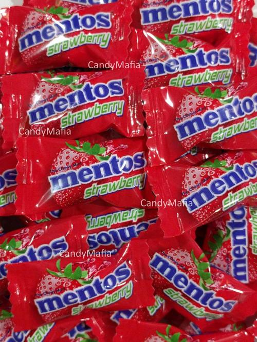 Strawberry Mentos