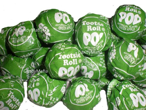 Green Apple Tootsie Pops