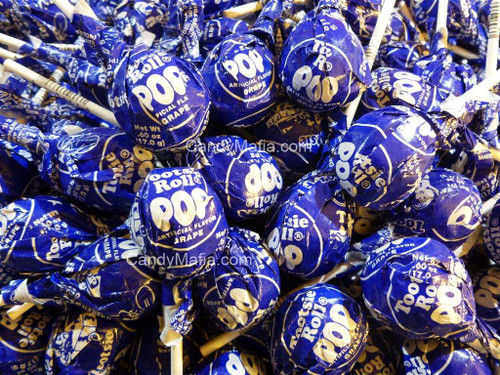 Grape Tootsie Pops