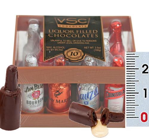 Very Special Chocolate Liquor Bottles Liqueur