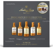 Anthon Berg Scotch Filled Chocolate Liquour Bottles 10 count - Scotch