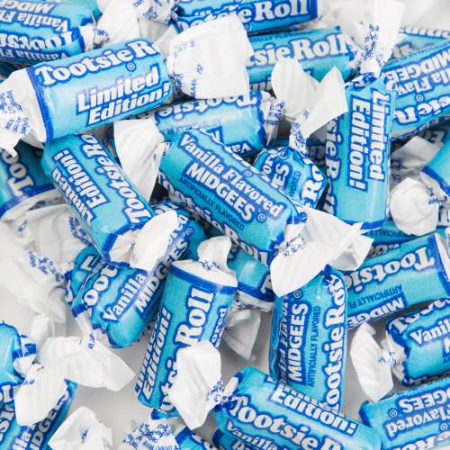 Vanilla Tootsie Roll Midgees