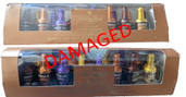 DAMAGED - Anthon Berg Liquor Filled Chocolate Liqueur Bottles 16 count - 2 Count - COFFEE