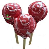 Cherry Starburst Pops