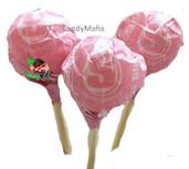 Strawberry Starburst Pops
