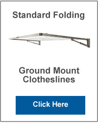 Standard Ground Mounted Folding Clotheslines