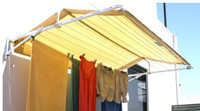 Folding Frame Clothesline Cover