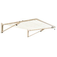 Austral Unit Line Fold Down Clothesline Classic Cream