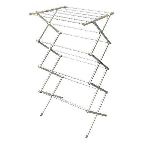 Large 15 Rail Wide Top Aluminium Concertina AirerClothes Airer