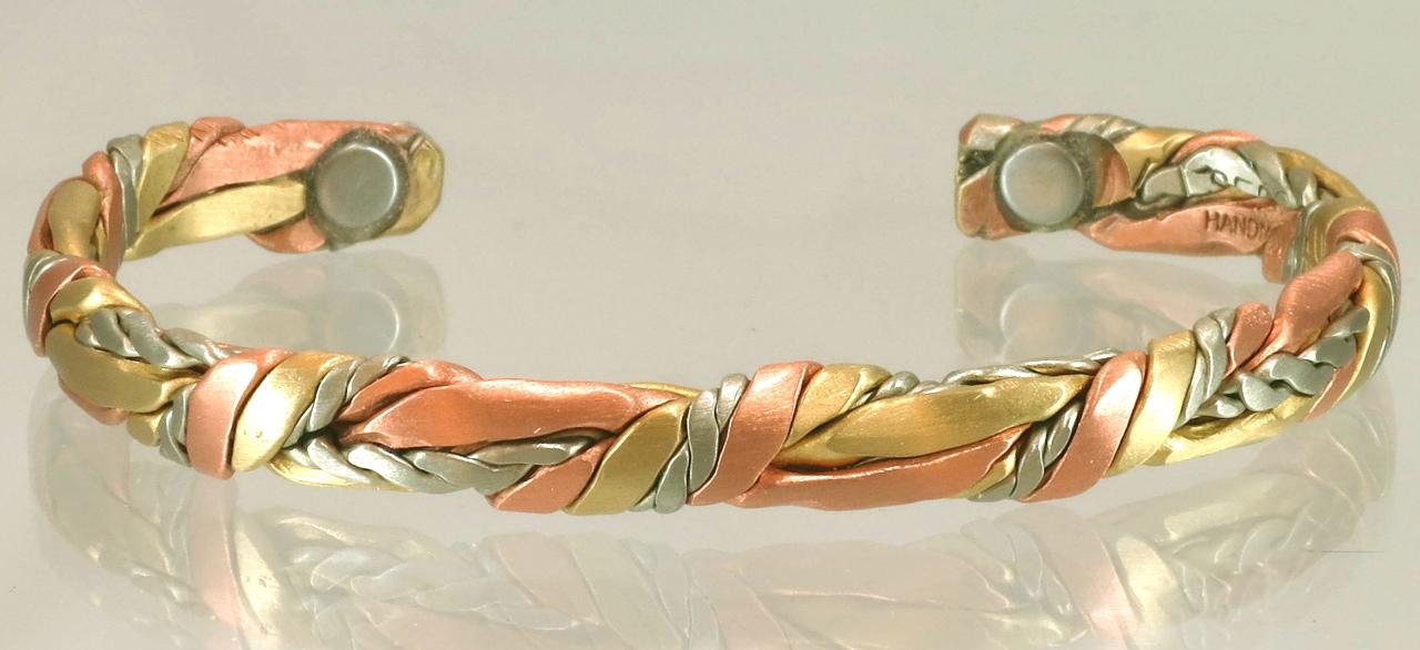 Copper bracelet for pain relief of Rheumatoid arthritis