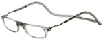 Clic Designer Eyeglasses Original Style in Smoke 'XXL Fit' :: Rx Bi-Focal