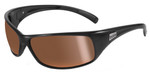 Bollé Marine Sunglasses: Recoil in Shiny-Black with Polarized Inland Gold