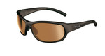 Bollé Golf Sunglasses: Bounty in Shiny Black with Modulator V3 Golf Oleo AF Lens