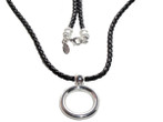 Eyeglass Necklace by Giorgio Fedon in Silver CP-2