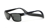 Hoven Eyewear MONIX in Black Gloss with Dark Grey & Grey Polarized