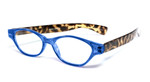 Calabria R544S Designer Eyeglasses in Blue-Tortoise :: Custom Left & Right Lens
