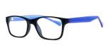 Soho 122 in Matte Black Designer Eyeglasses :: Custom Left & Right Lens