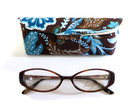 Vera Bradley 3040 Reading Glasses w/ Matching Case in Imperial Toile