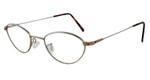 Marcolin Designer Eyeglasses 6395 in Bronze :: Rx Bi-Focal