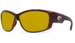 Costa Del Mar Polarized 580P Sunglasses: Luke in Tortoise & Sunrise Lens