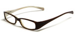 Calabria Viv Kids 119 Designer Reading Glasses in Black-Brown