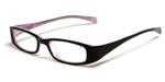 Calabria Viv Kids 119 Designer Reading Glasses in Black-Pink