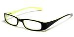 Calabria Viv Kids 119 Designer Reading Glasses in Black-Yellow