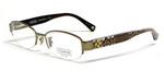 Coach Womens Designer Eyeglasses 'Betsy' HC5030 in Sand (9002) 52mm :: Custom Left & Right Lens