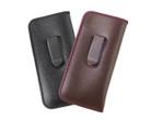 Mens Soft Slip-In Case w/ Plastic Clip Jumbo Sized