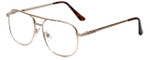Calabria 1106 Metal Aviator Reading Glasses