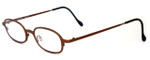 Harry Lary's French Optical Eyewear Bart Reading Glasses in Copper (882)