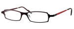 Harry Lary's French Optical Eyewear Victory in Black Red (860)