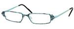 Harry Lary's French Optical Eyewear Ferrary in Teal Black (717)
