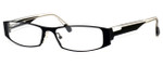 Harry Lary's French Optical Eyewear Volcany in Black Clear (620)