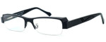 Harry Lary's French Optical Eyewear Royalty in Black (101)