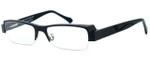 Harry Lary's French Optical Eyewear Royalty in Black (101)