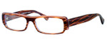Harry Lary's French Optical Eyewear Teasy in Purple Brown Stripe (545) :: Custom Left & Right Lens