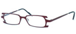 Harry Lary's French Optical Eyewear Terrory in Burgundy (055) :: Custom Left & Right Lens