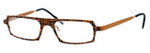 Harry Lary's French Optical Eyewear Starsky in Orange Black (731) :: Progressive