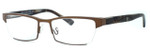 Harry Lary's French Optical Eyewear Utopy in Bronze (456) :: Progressive