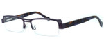 Harry Lary's French Optical Eyewear Trophy in Purple Brown (498) :: Rx Bi-Focal