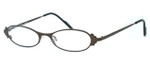 Harry Lary's French Optical Eyewear Twiggy in Bronze (456) :: Rx Bi-Focal
