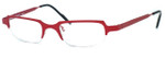 Harry Lary's French Optical Eyewear Kulty in Red (360)