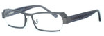 Harry Lary's French Optical Eyewear Legacy in Gunmetal (329)