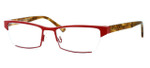 Harry Lary's French Optical Eyewear Utopy in Red Tortoise (360)