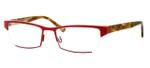 Harry Lary's French Optical Eyewear Utopy in Red Tortoise (360)