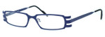 Harry Lary's French Optical Eyewear Vendetty in Navy Blue (498)